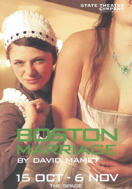 Boston Marriage STSA - Victoria Longley, Amber McMahon, Rachel Szalay Director - Catherine Fitzgerald