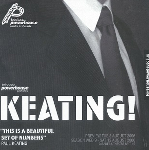 Keating Brisbane Cast - Casey Bennetto, Mike McLeish Director - Neil Armfield