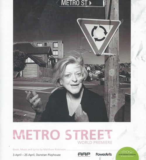 Metro Street STSA Cast - Debra Byrne, Cameron Goodall, Nancye Hayes, Jude Henshall, Verity Hunt-Ballard Director - Geordie Brookman