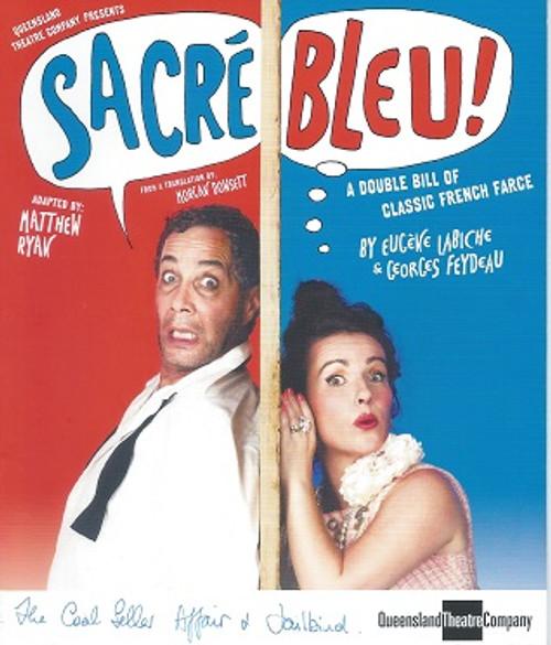 Sacre Bleu QTC Cast - Jonathan Brand, Dan Crestani, Eugene Gilfedder, Hayden Spencer, Neridah Waters Director - Morgan Dowsett