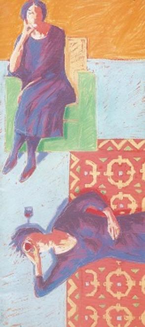 A Delicate Balance 1991 Cast - Barbara West, Frederick Parslow, Audine Leith, Daphne Grey, Edwin Hodgeman, Carmel McGlone Director - Sarah Peirse