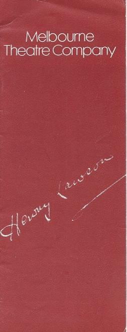 Henry Lawson The Bastard from the Bush - Robin Ramsay Director - Rodney Fisher