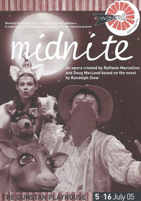 Nidnite Cast - Paul Blackwell, Mark Brady, Luke Gabbedy, Anna Margolis, Annabella Redman, Gary Rowley, Caroline Vercoe Director - Adam Cook