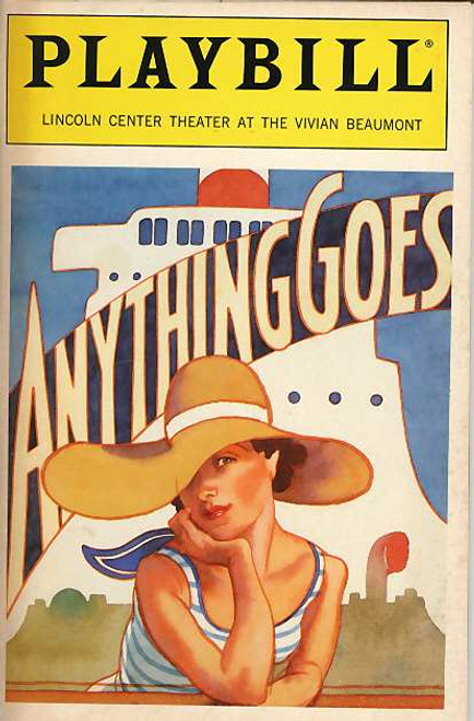 Anything Goes is a musical with music and lyrics by Cole Porter. The original book was a collaborative effort by Guy Bolton and P.G. Wodehouse, heavily revised by the team of Howard Lindsay and Russel Crouse