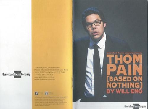 Thom Pain QTC -  Jason Klarwein Director - Jon Halpin