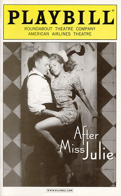 After Miss Julie is a play which relocates August Strindberg's naturalist tragedy, Miss Julie (1888), to an English country house in July 1945.
