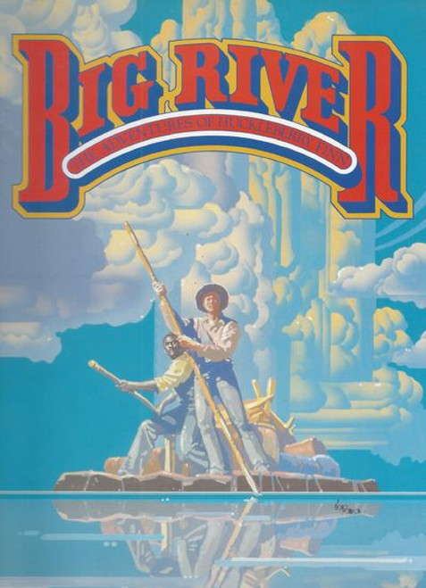 Big River: The Adventures of Huckleberry Finn is a musical with a book by William Hauptman and music and lyrics by Roger Miller.Based on Mark Twain's classic 1884 novel, Adventures of Huckleberry Finn, it features music in the bluegrass and country styles in keeping with the setting of the novel.