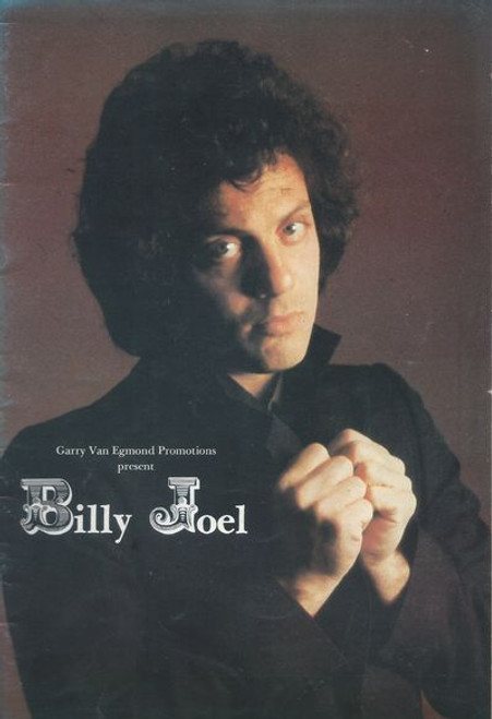 """""""Billy"""" Joel (born May 9, 1949) is an American pianist, singer-songwriter, and composer. Since releasing his first hit song, """"Piano Man"""", in 1973, Joel has become the sixth-best-selling recording artist and the third-best-selling solo artist in the United States. This was Billy Joel first Australian Concert Tour"""