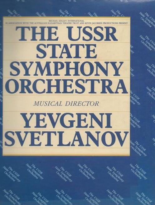 The USSR State Symphony Orchestra Musical Director - Yevgeni Svetlanov