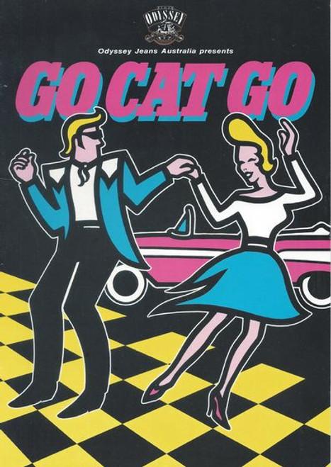 Go Cat Go - with Glen Shorrock by Bob Hudson, Jim Pike