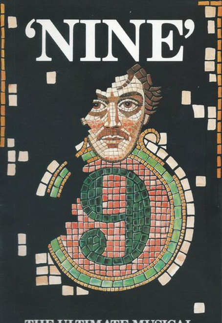Nine by Arthur Kopit, Maury Yeston Australian Tour 1988 - Lyric Theatre Brisbane With John Diedrich, Peta Toppano and Nancye Hayes