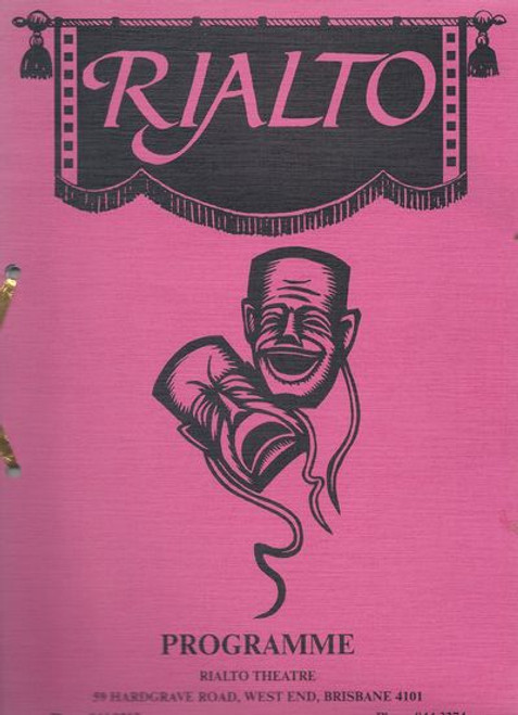 The Rialto Theatre Brisbane 60th Birthday Production of A Touch of Paris 1988