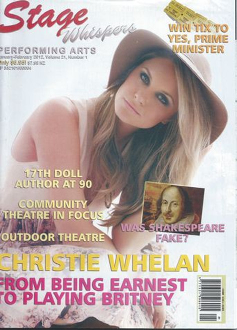 Stage Whispers is Australia's only national theatre magazine. News, Reviews, Features, What's On, Auditions and Stagecraft