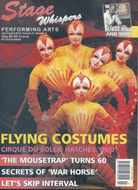 Stage Whispers is Australia's only national theatre magazine. News, Reviews, Features, What's On, Auditions and Stagecraft.
