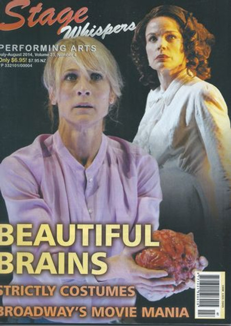Stage Whispers Magazine Australia Jul - Aug 2014    Stage Whispers is Australia's only national theatre magazine. News, Reviews, Features, What's On, Auditions and Stagecraft.