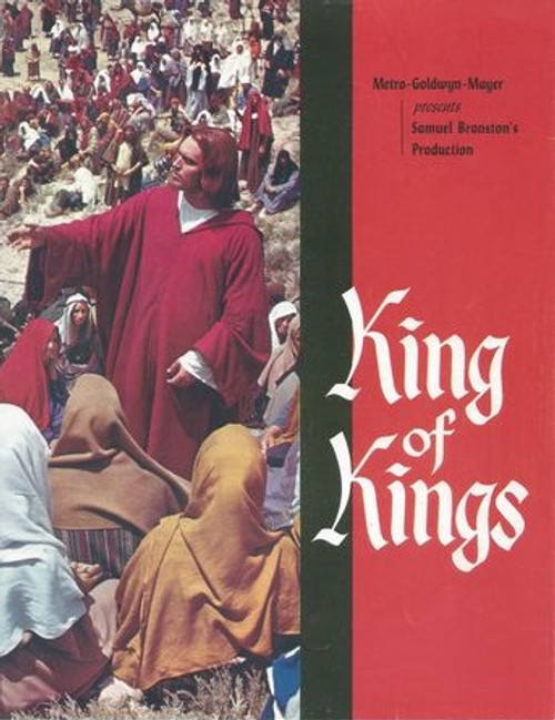 King of Kings Starring: Jeff Hunter, Siobhan McKenna, Hurd Hatfield, Ron Randell, Viveca Lindfors, Rita Gam, Carmen Sevilla, Guy Rolfe, Frank Thring, Rip Torn Program Date  1961 - This program also includes 3 A4 Lift-out Posters