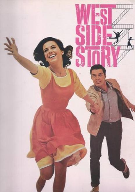 West Side Story Starring: Natalie Wood, Richard Beymer, Russ Tamblyn, Rita Moreno, George Chakiris Program Date  1961 USA Print