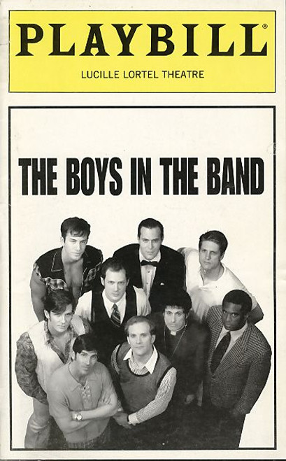 Boys, an extremely healthy run for both an off-Broadway production, and one not geared to a mainstream audience