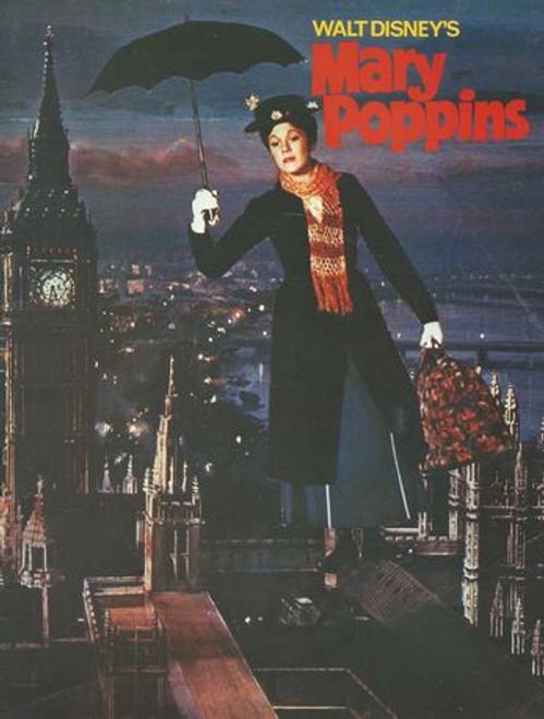 Mary Poppins Starring: Julie Andrews, Dick Van Dyke, David Tomlinson, Gyynis Johns, Ed Wynn, Hermione Baddeley, Karen Dotrice, Matthew Garber Program Date  1964 - Printed in UK Academy Awards Version