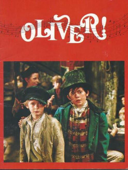 Oliver Starring: Ron Moody, Shani Wallis, Oliver Reed, Harry Secombe, Mark Lester, Jack Wild, Hugh Griffith, Hylda Baker Program Date  1968 UK Print