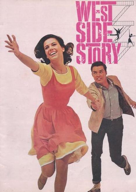 West Side Story Starring: Natalie Wood, Richard Beymer, Russ Tamblyn, Rita Moreno, George Chakiris Program Date  1961 UK Print