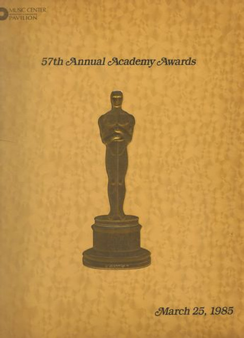 The 57th Academy Awards were presented March 25, 1985, at the Dorothy Chandler Pavilion, Los Angeles. Jack Lemmon presided over the ceremonies. This ceremony marked the first time that multiple black nominees would win an Oscar, when Prince and Stevie Wonder won for their respective work on Purple Rain and The Woman in Red. Additionally, it was the only time that all five nominees in Best Original Song topped the Billboard Hot 100 chart.  Amadeus won eight awards, including Best Picture. Other winners included The Killing Fields with three awards, A Passage to India and Places in the Heart with two, and Charade, Dangerous Moves, Indiana Jones and the Temple of Doom, Purple Rain, The Stone Carvers, The Times of Harvey Milk, Up, and The Woman in Red with one.  Program Date  1985