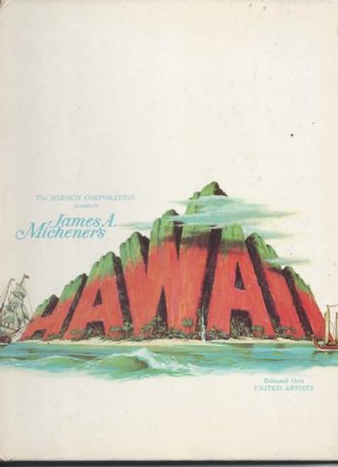 Hawaii Starring: Julie Andrews, Max Von Sydow, Richard Harris, Carroll O'Connor, Gene Hackman, Robert Crawford, Jocelyne La Garde Program Date  1966