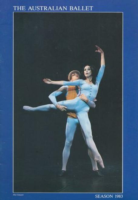 Suite Saint-Saens - Pillar of Fire - the Concert (1983) The Australian Ballet at Sydney Opera House