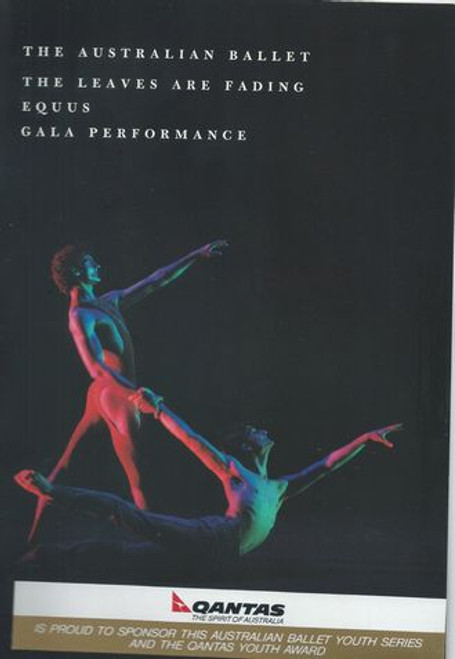 Equus - The Leaves are Fading - Gala Performance 1990 The Australian Ballet at the State Theatre Victorian Arts Center