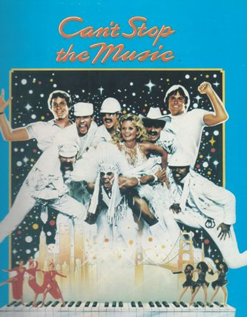 Can't Stop the Music (1980) Movie Program With the Village People