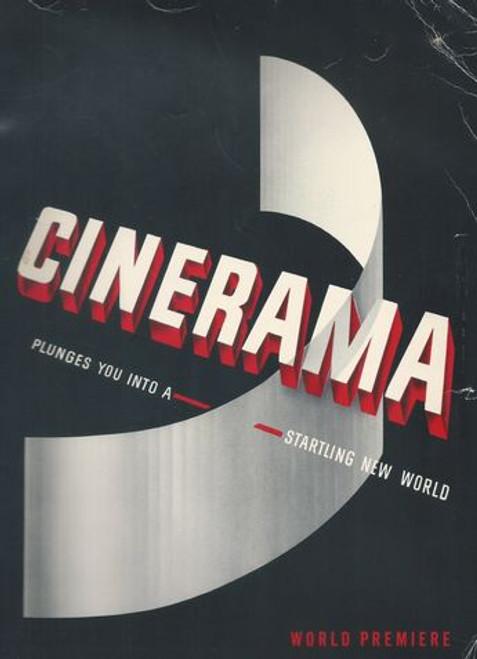 Cinerama World Premiere Program 1952 Cinerama was invented by Fred Waller (1886–1954)