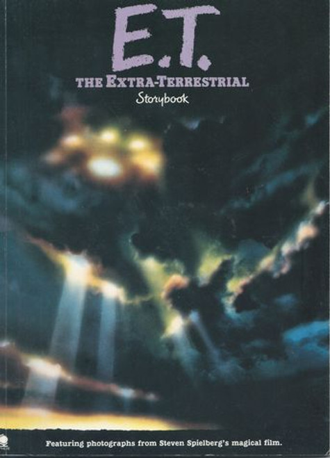 Et - The Extra Terrestrial (1982) ET Storybook with story and lots of Photographs
