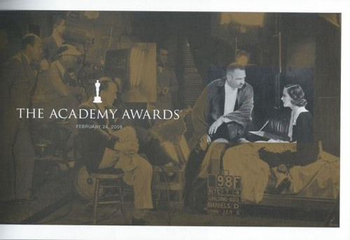 80th Academy Awards (2008) Program For Movies Released in 2007