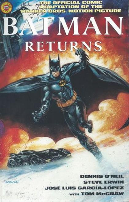 Batman Returns 1992 Official Comic of the Movie
