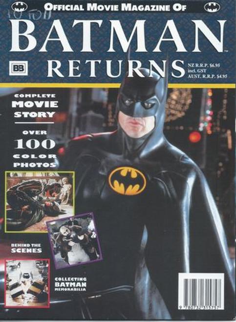 Batman Returns 1992 Official Movie Magazine
