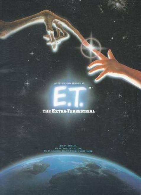 ET - The Extra Terrestrial (1982) UK Print Directed by Steven Spielberg