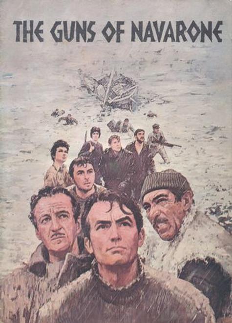 The Guns of Navarone  (1961) Movie Australian Print Directed J Lee Thompson, Gregory Peck, David Niven, Anthony Quinn, Stanley Baker, Anthony Quayle, Irene Papas, Gia Scala, James Darren