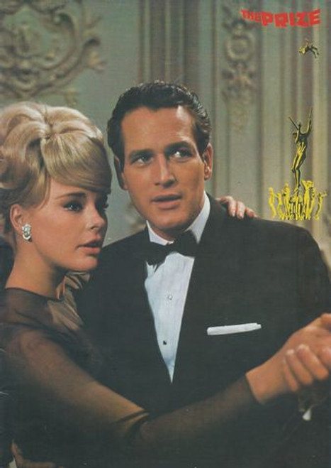 The Prize (1963) Movie Directed by Mark Robson, Paul Newman, Edward G. Robinson, Elke Sommer, Diane Baker, Micheline Presle, Gerard Oury, Sergio Fantoni,kevin McCarthy, Leo G Carroll