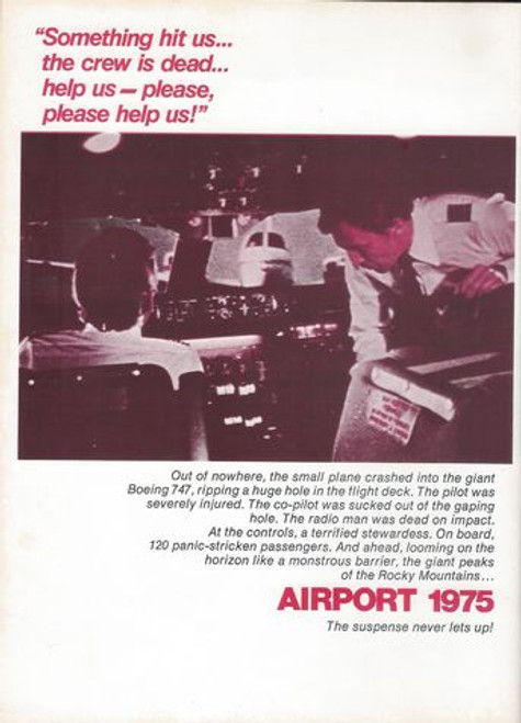 Airport 1975 (1974) Movie Directed by Jack Smight