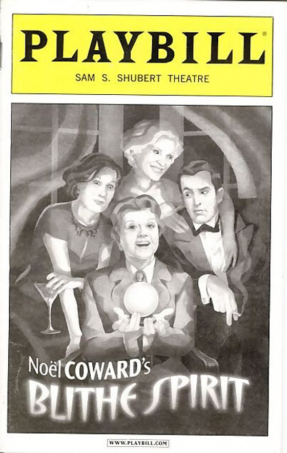 """Blithe Spirit is a comic play written by Noël Coward which takes its title from Percy Bysshe Shelley's poem """"To a Skylark"""" (""""Hail to thee, blithe Spirit! / Bird thou never wert"""")."""