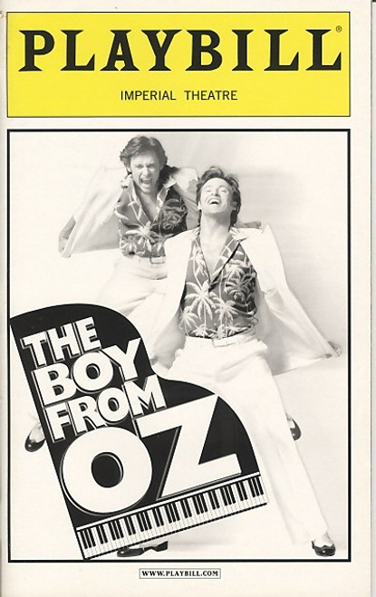 The Boy From Oz  is a jukebox musical based on the life of singer/songwriter Peter Allen and featuring songs written by him. The book is by Nick Enright.
