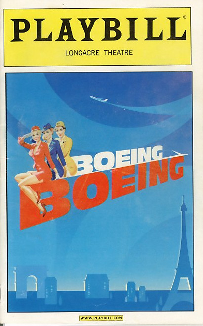 Boeing-Boeing is a classic farce written by French playwright Marc Camoletti. The English language adaptation, translated by Beverley Cross, was first staged in London at the Apollo Theatre in 1962