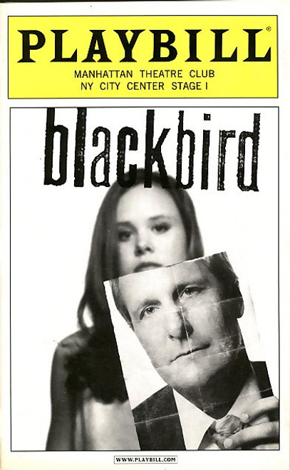 Blackbird is a 2005 one-act (90 minute) play by Scottish playwright David Harrower. It was inspired in part by the crimes of sex offender Toby Studebaker and depicts the meeting between a young woman and a middle-aged man