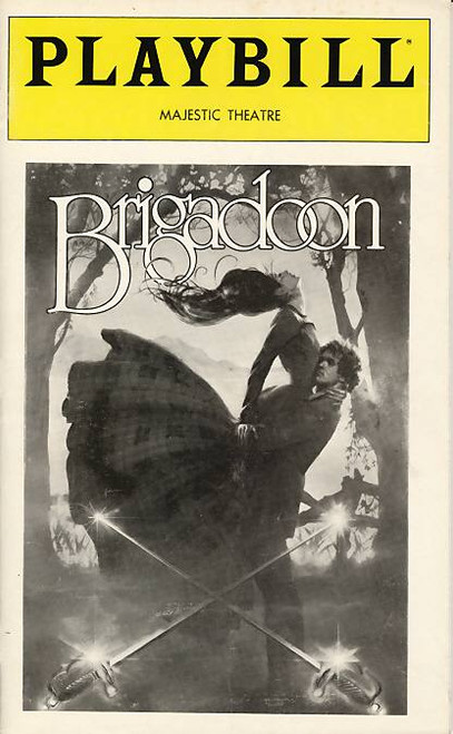 "Brigadoon is a musical with a book and lyrics by Alan Jay Lerner and music by Frederick Loewe. Songs from the musical, such as ""Almost Like Being in Love"" have become standards."