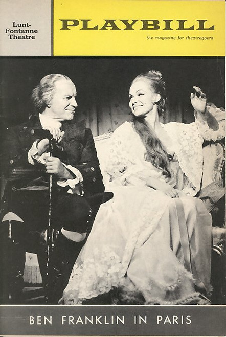 Ben Franklin in Paris is a musical with a book and lyrics by Sidney Michaels, and music by Mark Sandrich, Jr. with two songs contributed by Jerry Herman.