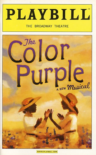 The Color Purple is a Broadway musical based upon the novel The Color Purple by Alice Walker. It features music and lyrics written by Brenda Russell