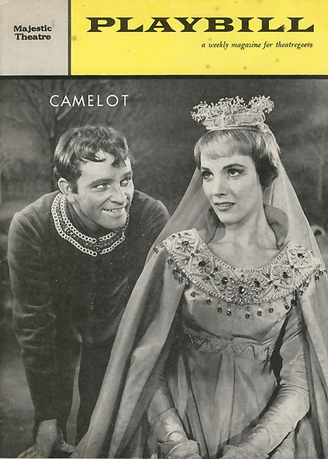 Camelot is a musical by Alan Jay Lerner (book and lyrics) and Frederick Loewe (music). It is based on the King Arthur legend as adapted from the T. H. White tetralogy novel The Once and Future King.