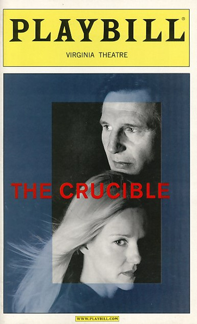 The Crucible is a 1953 play by the American playwright Arthur Miller. It is a dramatization of the Salem witch trials that took place in the Province of Massachusetts Bay during 1692 and 1693