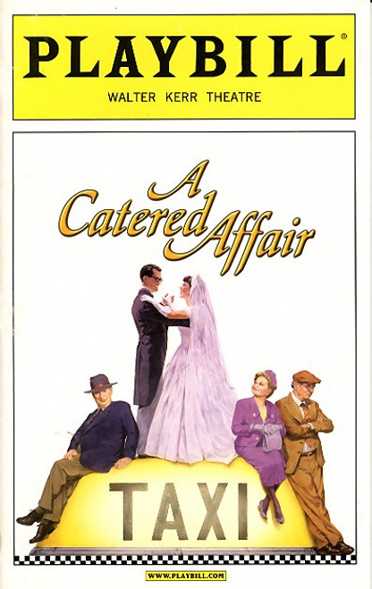 It is based on both the 1956 film The Catered Affair written by Gore Vidal and the original 1955 teleplay by Paddy Chayefsky, set in 1953 in the Bronx.