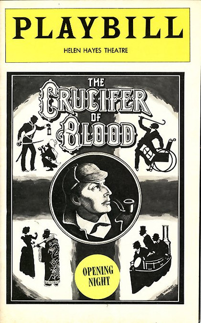 The Crucifer of Blood is a play by Paul Giovanni that is adapted from the Arthur Conan Doyle story The Sign of the Four. It depicts the character Irene St. Claire hiring the detective Sherlock Holmes to investigate the travails that her father and his three compatriots